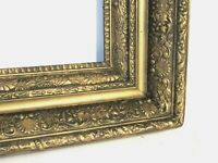 ANTIQUE MUSEUM QUALITY  GILT FRAME FOR PAINTING 22 X18 inch  ( I -5)
