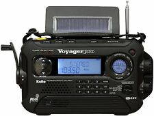 KAITO BLACK KA600L 5-WAY POWER EMERGENCY AM/FM/SW NOAA WEATHER ALERT RADIO!