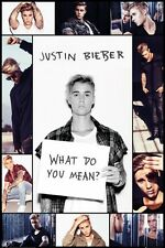 "JUSTIN BIEBER POSTER ""COLLAGE"" BRAND NEW ""SIZE 61cm X 91.5cm"""