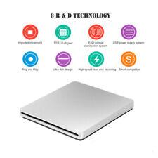 Externes DVD Laufwerk Brenner Slim USB 3.0 CD DVD-RW Brenner für PC Laptop Mac