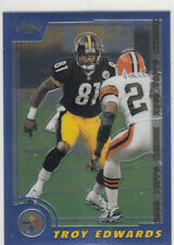 TROY EDWARDS 2000 TOPPS CHROME #2 PITTSBURGH STEELERS