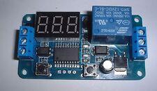 DC 12V LED Display Digital Delay Switch Module  UK Seller