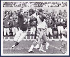 Minnesota Vikings vs LA Rams 1973 original football photo Hadl & Marshall