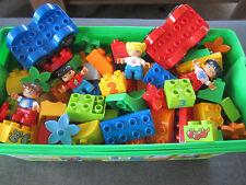 40 LEGO DUPLO STEINE BAUSTEINE SONDERSTEINE BLUMEN AUTO ODER KIND  STARTER NEU