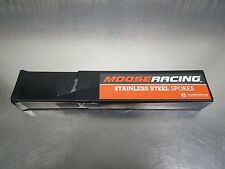 "Moose Racing Stainless Spokes 21"" Set of 36 1-22-211-S 06-16 Kawasaki KX250"