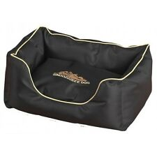 SNOOZZZEEE DOGXTREME LUXURY DELUXE LARGE DOG BED PET PUPPY  WATERPROOF BLACK 32""