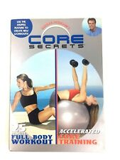 Core Secrets Full Body Workout & Accelerated Core Training 2 DVD Set Exercise
