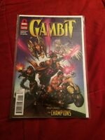 Gambit Marvel Vault One Shot Low Print Run Htf [marvel, 2011]