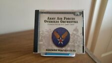 CD ARMY AIR FORCES OVERSEAS ORCHESTRA - FAREWELL PERFORMANCES CANADIAN IMPORT