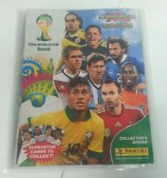 CCG - Panini Fifa World Cup Brasil Collectors Binder Trading Cards Over 50% Full