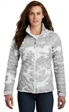 THE NORTH FACE TNF ThermoBall Trekker Jacket White Woodchip WOMENS SZ S Camo NWT