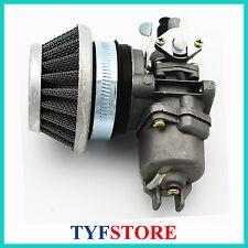 Carburetor with air filter for 49cc 2 stroke mini pocket bike mini dirt bike