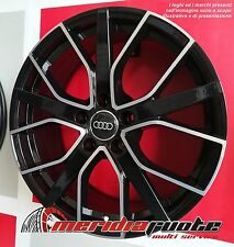 F035 BD KIT 4 CERCHI IN LEGA 8J 18 5X112 ET35 66,5 AUDI A4 A5 A6 A7 Q3 Q5 OFFER
