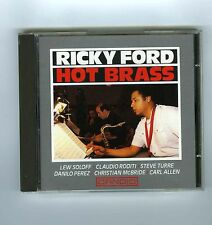 CD RICKY FORD HOT BRASS
