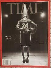 TIME Magazine KOBE Bryant Mamba Los Angeles Lakers 1978-2020 SHIP NOW!