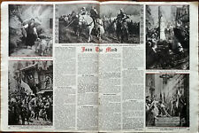 More details for st. joan, joan the maid an epic that haunts the centuries vintage article 1948