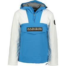 Napapijri Thick Rainforest Jacket Winter Blue & White