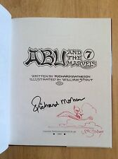 SIGNED & SKETCHED x2 Abu and the 7 Marvels Richard Matheson William Stout 1/1 HC