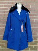 YOKI WOMEN'S WOOL BLEND COAT BLUE SIZE L  New with tags!