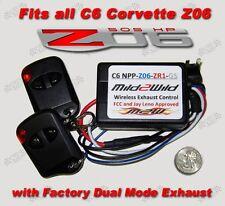 2006 - 2013 C6 Z06 Corvette Mild to Wild NPP Exhaust Control - FREE Shipping