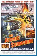 Atomic Submarine Movie poster 24x36
