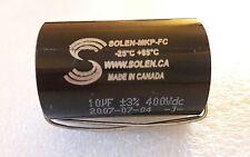 1 pc Solen MKP-FC Capacitor 10uf 400VDC