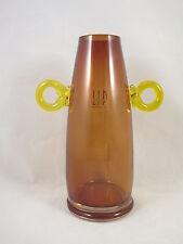 Stunning Marcello Furlan Murano Industrial art Glass Vase Manifattura del Vetro