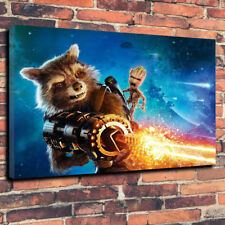 "Guardians Of The Galaxy Baby Groot Printed Canvas A1.30""x20"" -30mm Deep Frame"