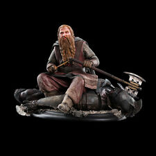 WETA Lord of the RIngs Gimli on Uruk-Hai 43 Miniature Mini Statue NEW DOUBLEBOX