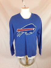 Men's Blue NFL Team Apparel Buffalo Bills Pullover Sweater - Size L