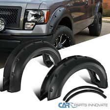 2009-2014 Ford F150 Styleside Pickup Pocket Rivet Bolt-On Style Fender Flares