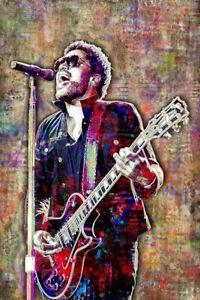 LENNY KRAVITZ Poster 20x30inch Lenny Kravitz Music Tribute Print Free Shipping