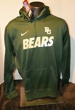 New BAYLOR University Bears Nike Hoodie Men's Med-3XL Therma-fit NWT MSRP $75.00