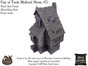 City of Tarok Medieval Home (C) 28mm/32mm medieval fantasy building