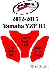 3M Scotchgard Paint Protection Film Clear Bra Pre-Cut Kit Yamaha YZF R1 Tank Kit