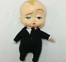 Boss Baby Talking Plush Doll Vinyl Head Commonwealth 2017 Soft Toy Talks Suit