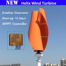 400w 12v 24v Helix maglev Axis Vertical Wind Turbine Wind Generators Home Use