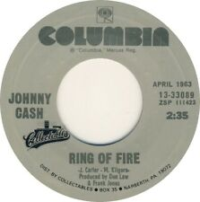 "JOHNNY CASH - Ring Of Fire 7"" 45"