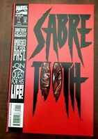 SABRETOOTH #1/ 1ST SOLO BOOK/ 1993 MARVEL COMICS. GRADE READY