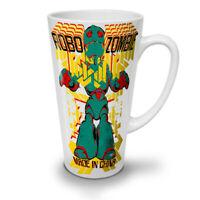 Robot Fashion Cool NEW White Tea Coffee Latte Mug 12 17 oz | Wellcoda