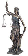 Veronese Bronze Figurine Goddess of Justice La Justicia Justitia Iustitia LARGE