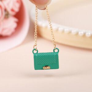 Doll House Mini Metal Bag Accessories Fashion Decoration Miniature ModelWF
