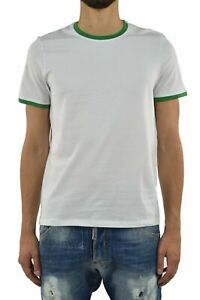 Bikkembergs T-Shirt White Man Cotton Mod.T32P075114C045360