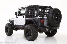 Smittybilt C.RES2 HD Restraint Cargo Net 97-06 Jeep Wrangler TJ 561135 Black