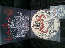 SABBAT Live Sabbatical Hamaguri Queen Picture LP & CD LTD 100! mayhem abigail