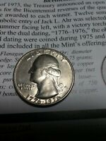 1776-1976 DENVER MINT BICENTENNIAL QUARTER. ERRORS ON THIS ONE. PLEASE LOOK.