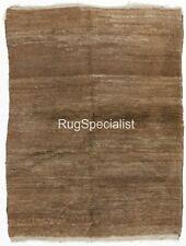 Contemporary Mocha Color Tulu Rug. CUSTOM OPTIONS Available