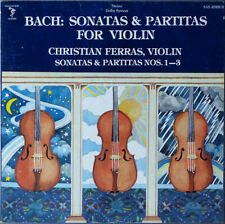 Ferras: Bach Solo Violin Sonatas & Partitas - Sine Qua Non SAS 2028/3 (3LP box)