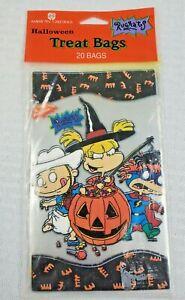 Unopened  RUGRATS Halloween Treat  Bags  AMERICAN GREETINGS (20 CT) 1998 NEW