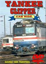 Amtrak's Yankee Clipper Cab Ride DVD NEW AEM-7 Penn Station to New Haven